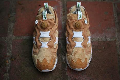 Furry Teddy Sneakers
