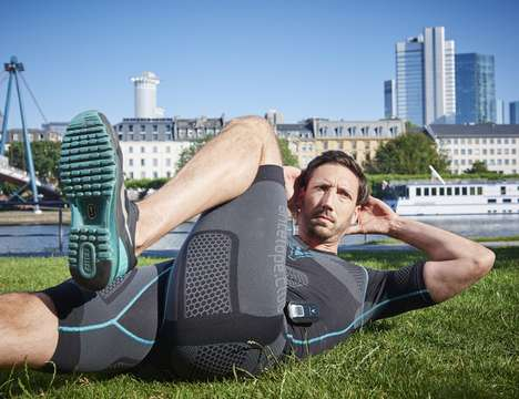 Muscle-Stimulating Clothing - The ANTELOPE Sportswear Muscle Activation Smartsuit Aids Athletes