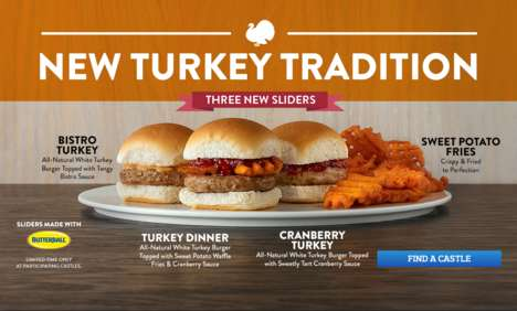 Seasonal Turkey Sliders