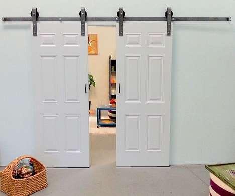 Farm-Inspired Doorways