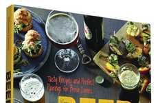 Instructional Beer Pairing Guides - This Cookbook Provides Tasty Recipes to Pair with Beer