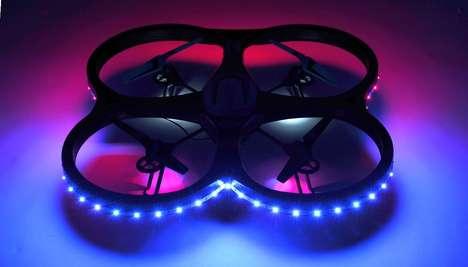 Chromatic LED Drones