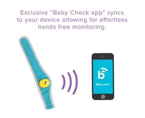 Wearable Baby Monitors - This Wearable Device Monitors an Infant's Temperature and Position