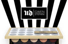 Rocker Songstress Cosmetics - Singer Gwen Stefani Teams Up with Urban Decay to Create a Palette