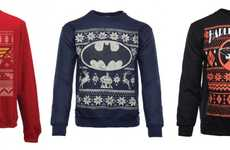 Superhero Holiday Sweaters - These Ugly Christmas Jumpers Feature DC Comic Hero Designs