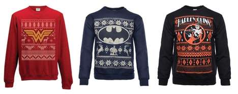 Superhero Holiday Sweaters