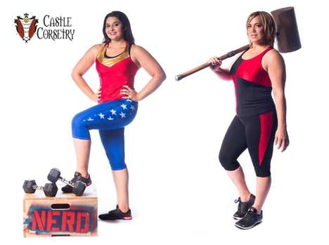Superhero Workout Wear