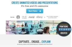 Animated Presentation-Making Tools - This Tool Helps Users Make Professional Business Presentations