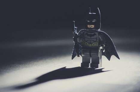 Cinematic LEGO Scenes