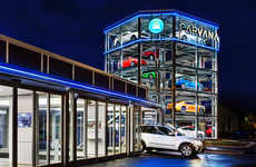 Vehicle Vending Machines - The Carvana Dealership Gamifies Car Pick-Ups with a Car Vending Machine