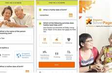 Elderly Care Apps - Singpore's AICare Link App Improves Access to Elderly Support Services
