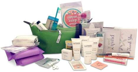 Pregnancy Delivery Kits - The Push Pack is a Prepacked Hospital Bag for Expectant Mothers