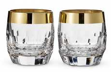 Retro Crystal Glassware - The Waterford Mad Men Edition Drinkware Evokes a Serious 60s Aesthetic