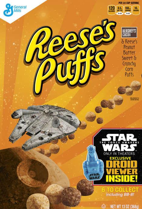 Sci-Fi Cereal Branding