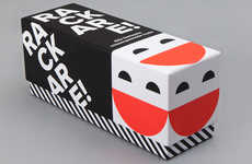 Colorful Card Game Packages - The 'Rackare' Wordplay Game Uses a Family-Friendly Packaging Design