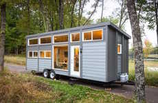 Compact Eight-Person Homes