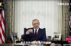 Comical Shopping Holiday Commercials - Frank Underwood Gave a Presidential Speech on Singles Day