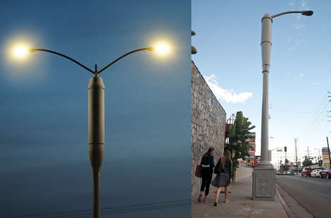 These High-Tech Street Lamps Improve Cell Service During Emergenices