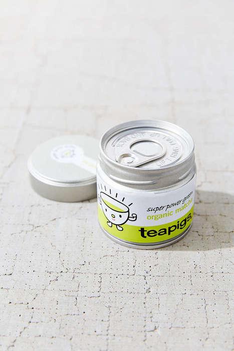 Pull-Tab Matcha Tins