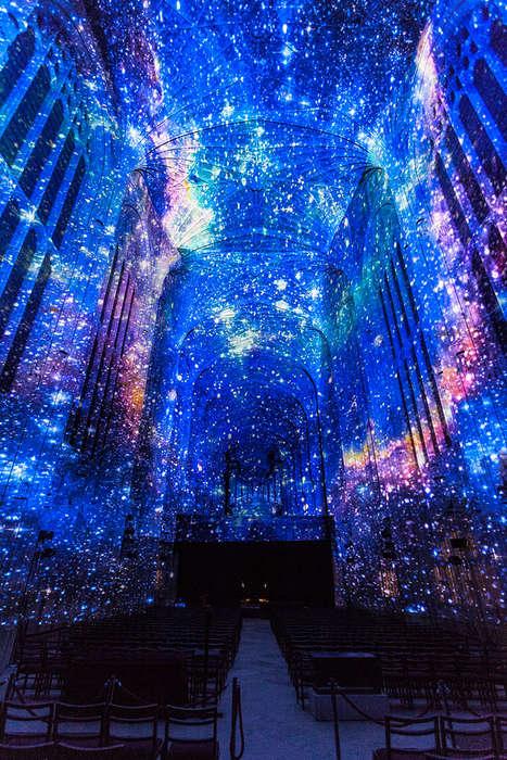 Illuminated Chapel Installations