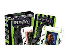 Creepy Character Card Decks - These Beetlejuice Collectable Playing Cards Have Classic Film Imagery