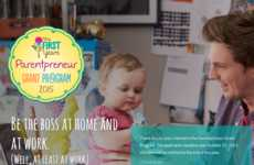 Entrepreneurial Parent Programs - First Years' 'Parentpreneur Grant' Fuses Parenting and Business