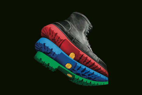 Customized Colored Shoe Soles - This Resoling Service Lets Customers Color Customize Their Footwear