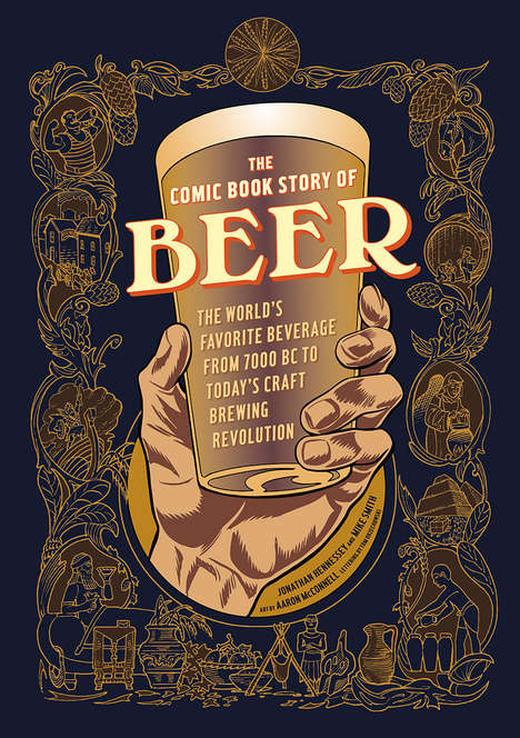 Beer-Based Comic Books - This Comic Book is Packed with Information About the History of Beer