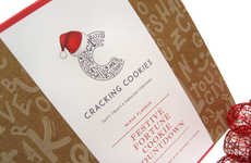Festive Cookie Countdowns - This Christmas Advent Calendar Surprises with a Fortune Cookie Each Day