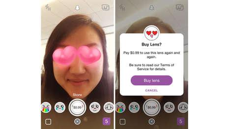 Social Media Selfie Filters