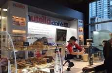 Chocolate Sauce-Honoring Cafes - The Nutella Cafe Offers a Menu Filled with Nutella-Infused Dishes