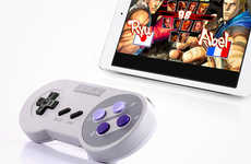 Retro Bluetooth Game Controllers