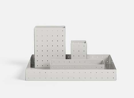 Perforated Patterned Organizers