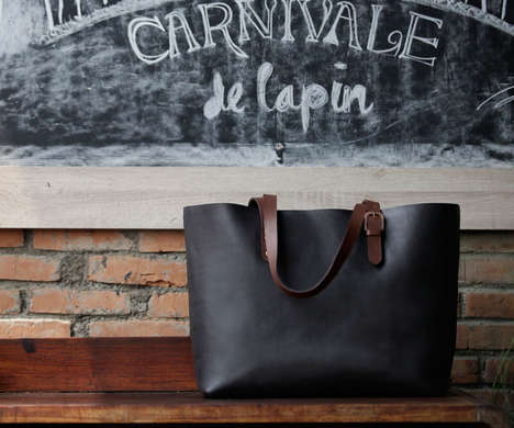 Intricately Tanned Totes