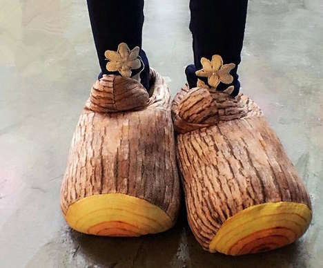 Faux Timber Footwear