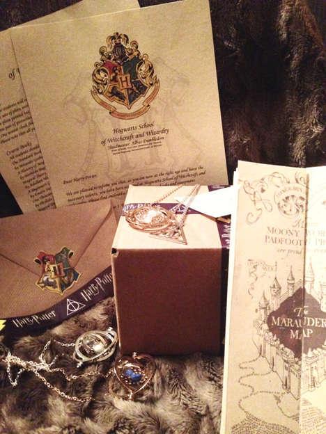 Wizard School Acceptance Letters