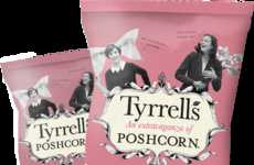 Super-Sized Popcorn Packaging - This Delicious Treat is Now Available in a Sharing Bag