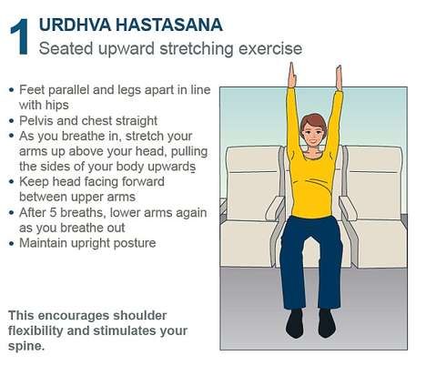 Airplane Yoga Guides