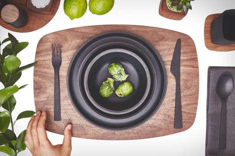 Textured Matte Tableware