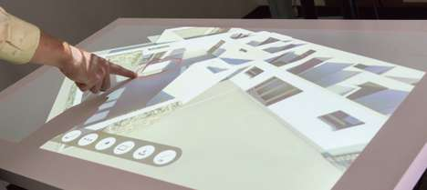 Projected Touchscreen Systems - Ubi Interactive's J2GO System Turns Any Surface into a Touchscreen