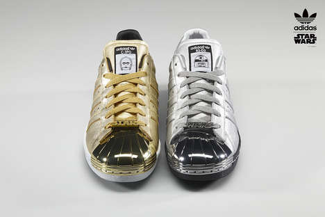 Galactic Franchise Footwear - The adidas Superstar 'Star Wars' Sneakers Can be Totally Customized
