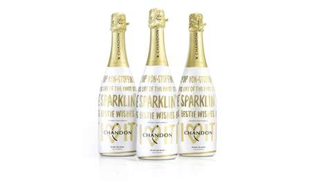 Festive Sparkling Wine Packaging