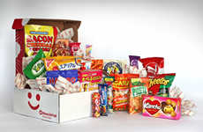Unhealthy Treat Subscriptions - MunchPak Snack Delivery Service Provides International Treats