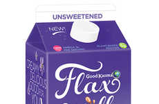 Flax-Based Beverages - Good Karma's Flax Milk is Enriched with Protein