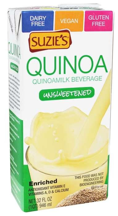 Creamy Quinoa Milks