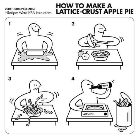 Comic Strip Recipe Books