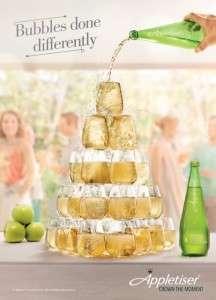 Alcohol-Free Bubbly Ads