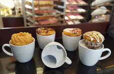 Donut-Warming Mugs - The Mug Has a Built-In Hot Plate to Keep Both Your Beverage and Pastry Warm