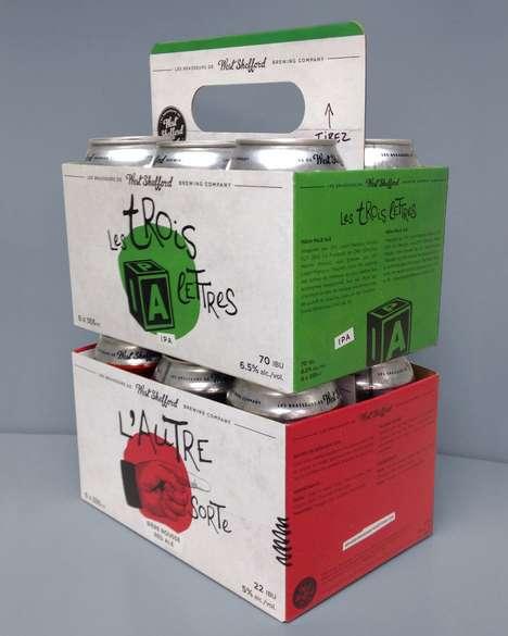 Handy Beer-Carrying Cartons