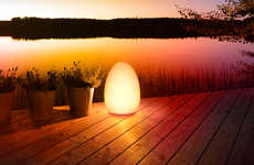 Light Therapy Lamps - The Elgato Avea Flare Portable Light is Customizable to Suit Your Mood